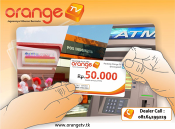 Beli Voucher OrangeTV Via Online