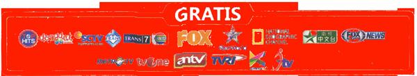 OrangeTV Hanya 19Rb/ Bulan Gratis 17 Channel