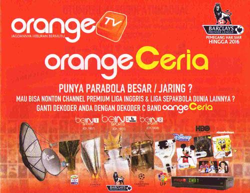 Decoder Parabola OrangeTV C Band