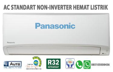 AC Panasonic Standart Non Inverter Hemat Listrik