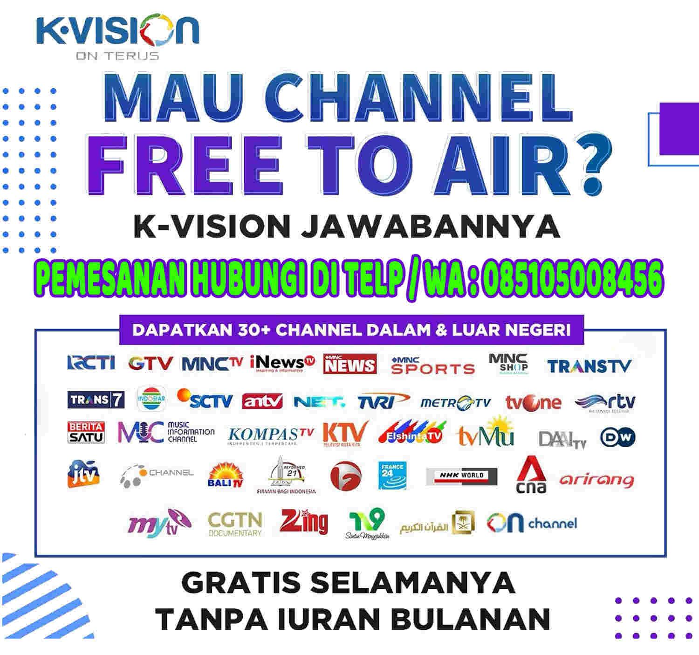 Parabola K Vision Tanpa Berlangganan Gratis All Channel Tv Nasional Selamanya Cv Asia Mandiri Malang Kontraktor Konstruksi It Supplier
